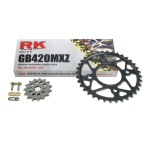 Drive Systems Superlite RS8 RK 420MXZ Chain 13-14 Grom MSX125